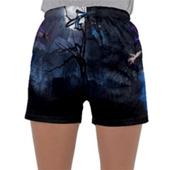 Magical Fantasy Wild Darkness Mist Sleepwear Shorts