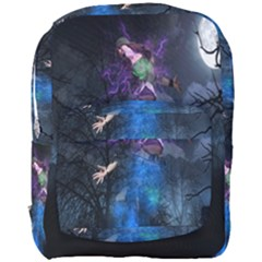 Magical Fantasy Wild Darkness Mist Full Print Backpack