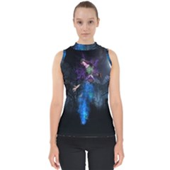 Magical Fantasy Wild Darkness Mist Shell Top