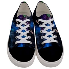 Magical Fantasy Wild Darkness Mist Women s Low Top Canvas Sneakers