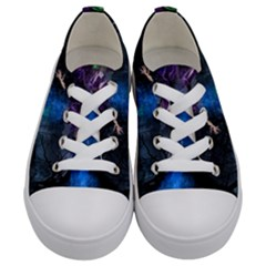 Magical Fantasy Wild Darkness Mist Kids  Low Top Canvas Sneakers