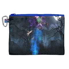 Magical Fantasy Wild Darkness Mist Canvas Cosmetic Bag (xl)