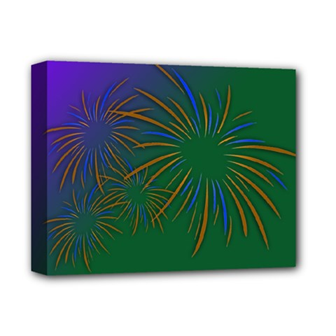 Sylvester New Year S Day Year Party Deluxe Canvas 14  X 11