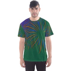 Sylvester New Year S Day Year Party Men s Sports Mesh Tee