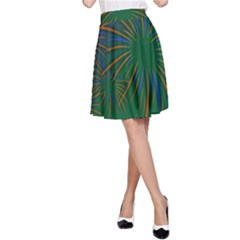 Sylvester New Year S Day Year Party A Line Skirt