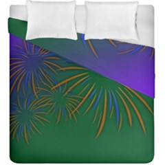 Sylvester New Year S Day Year Party Duvet Cover Double Side (king Size)