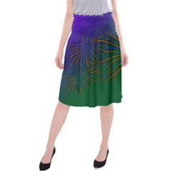 Sylvester New Year S Day Year Party Midi Beach Skirt