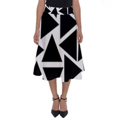 Template Black Triangle Perfect Length Midi Skirt