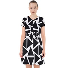 Template Black Triangle Adorable In Chiffon Dress by BangZart