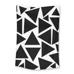 Template Black Triangle Small Tapestry by BangZart