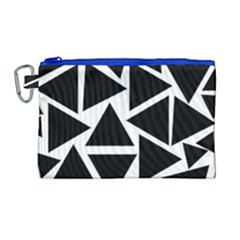 Template Black Triangle Canvas Cosmetic Bag (large) by BangZart