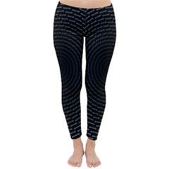 Q Tips Collage Space Classic Winter Leggings
