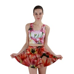 Tulips Flowers Spring Mini Skirt by BangZart