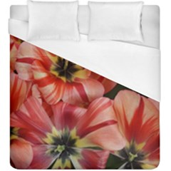 Tulips Flowers Spring Duvet Cover (king Size) by BangZart