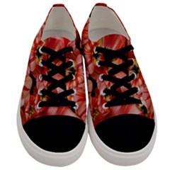 Tulips Flowers Spring Men s Low Top Canvas Sneakers