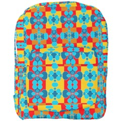 Pop Art Abstract Design Pattern Full Print Backpack
