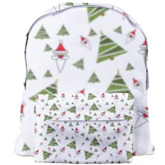 Christmas Santa Claus Decoration Giant Full Print Backpack