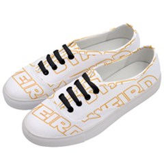 Stay Weird Women s Classic Low Top Sneakers by Valentinaart