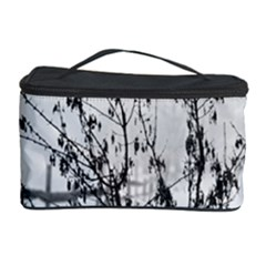 Snow Winter Cold Landscape Fence Cosmetic Storage Case by BangZart