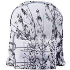 Snow Winter Cold Landscape Fence Giant Full Print Backpack by BangZart