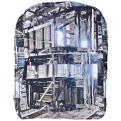 House Old Shed Decay Manufacture Full Print Backpack
