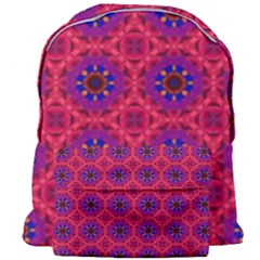 Retro Abstract Boho Unique Giant Full Print Backpack