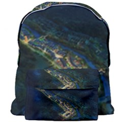 Commercial Street Night View Giant Full Print Backpack