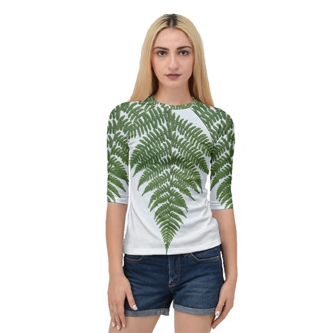 Boating Nature Green Autumn Quarter Sleeve Raglan Tee by BangZart