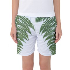 Boating Nature Green Autumn Women s Basketball Shorts