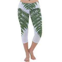 Boating Nature Green Autumn Capri Yoga Leggings by BangZart