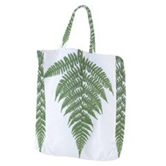Boating Nature Green Autumn Giant Grocery Zipper Tote