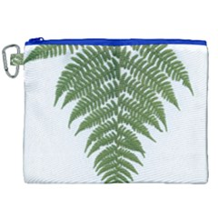 Boating Nature Green Autumn Canvas Cosmetic Bag (xxl)