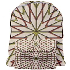 Kaleidoscope Online Triangle Giant Full Print Backpack