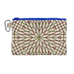 Kaleidoscope Online Triangle Canvas Cosmetic Bag (large)