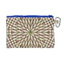 Kaleidoscope Online Triangle Canvas Cosmetic Bag (Large) View2