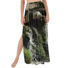 Water Waterfall Nature Splash Flow Maxi Chiffon Tie Up Sarong