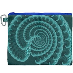 Fractals Form Pattern Abstract Canvas Cosmetic Bag (xxxl)