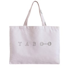 Taboo Zipper Mini Tote Bag by Valentinaart