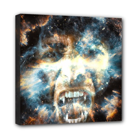 Universe Vampire Star Outer Space Mini Canvas 8  X 8  by BangZart