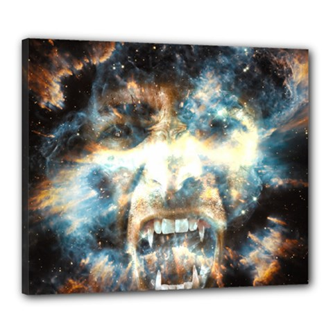 Universe Vampire Star Outer Space Canvas 24  X 20