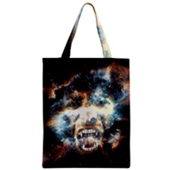 Universe Vampire Star Outer Space Zipper Classic Tote Bag