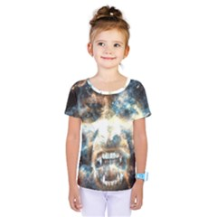 Universe Vampire Star Outer Space Kids  One Piece Tee