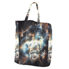 Universe Vampire Star Outer Space Giant Grocery Zipper Tote