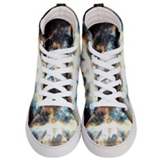 Universe Vampire Star Outer Space Women s Hi-top Skate Sneakers