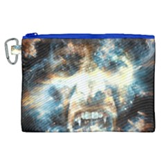 Universe Vampire Star Outer Space Canvas Cosmetic Bag (xl)