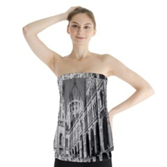 Architecture Parliament Landmark Strapless Top
