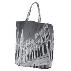 Architecture Parliament Landmark Giant Grocery Zipper Tote