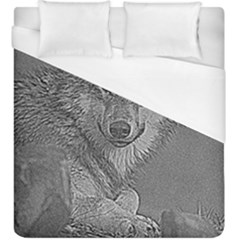 Wolf Forest Animals Duvet Cover (king Size) by BangZart