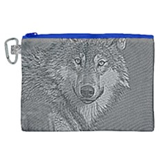 Wolf Forest Animals Canvas Cosmetic Bag (xl)