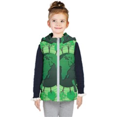 Earth Forest Forestry Lush Green Kid s Puffer Vest